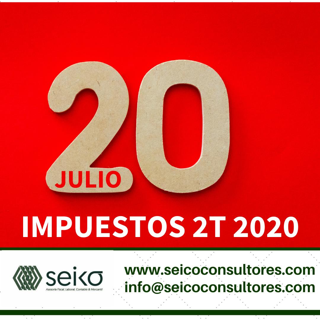 20 JULIO IMPUESTOS 2T
